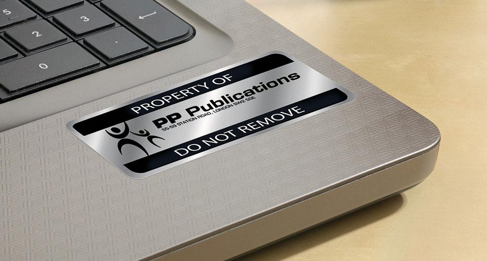 Etiketter för IT-utrustning