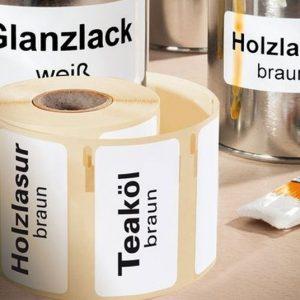 Etiketter för etikettskrivare