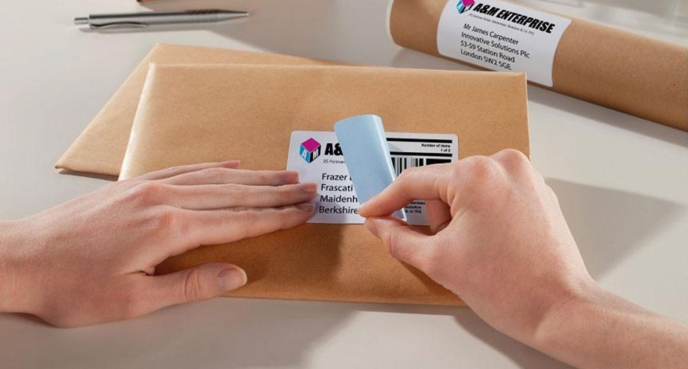 BlockOut™ paketetiketter