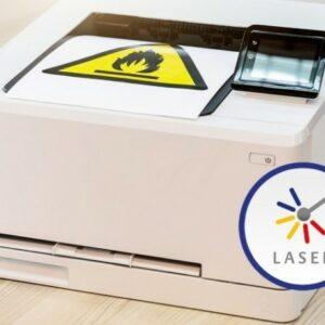 Etiketter för laserskrivare