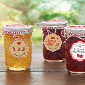 Marmeladetiketter